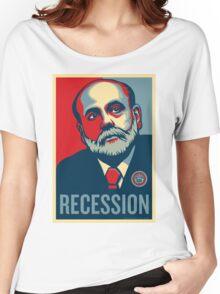 Federal Reserve Chair Ben Bernanke Women's Relaxed Fit T-Shirt
