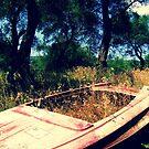Old Boat by Hazel Dean