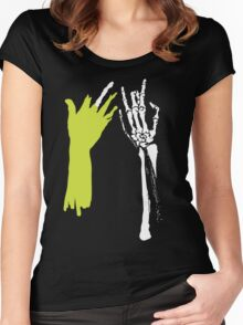 Zombie Hands Women's Fitted Scoop T-Shirt