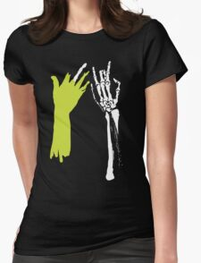 Zombie Hands Womens Fitted T-Shirt