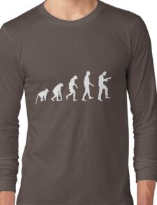 Zombie Evolution Long Sleeve T-Shirt
