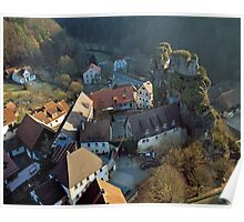 Tüchersfeld,  Bavaria, Germany. Poster