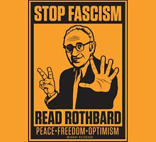 Stop Fascism: Read Rothbard Unisex T-Shirt