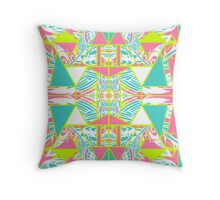 Tropical Infusion Throw Pillow