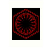 Star Wars First Order - Tunnel Art Print