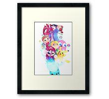 Nintendo power Framed Print