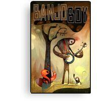 Banjo Boy Canvas Print