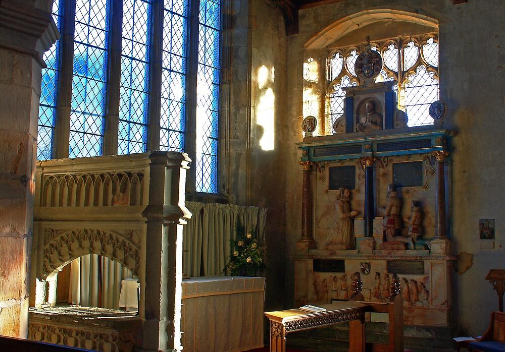 Lady Chapel, St Mary, Goudhurst by Dave Godden