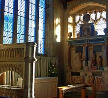 Lady Chapel, St Mary, Goudhurst by Dave Godden