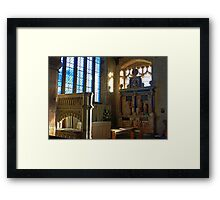 Lady Chapel, St Mary, Goudhurst Framed Print