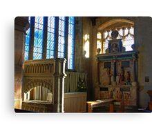 Lady Chapel, St Mary, Goudhurst Canvas Print