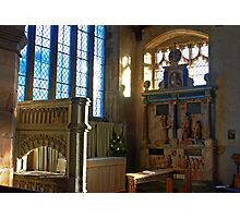 Lady Chapel, St Mary, Goudhurst Photographic Print