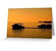 Morning Voyage, Nassau, Bahamas Greeting Card