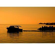 Morning Voyage, Nassau, Bahamas Photographic Print