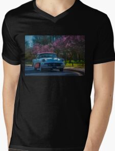 1956 Buick Mens V-Neck T-Shirt