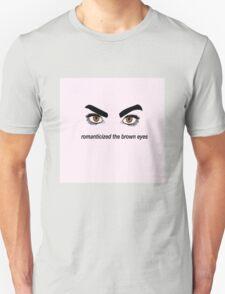 Brown Eyes Unisex T-Shirt