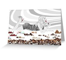 Gluttony Greeting Card