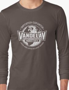 Vandelay Industries (white) Long Sleeve T-Shirt