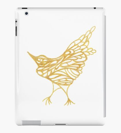 Golden Canary iPad Case/Skin