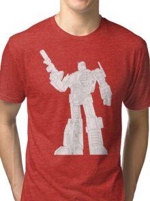 Optimus Prime - Écorché (lineart) Tri-blend T-Shirt