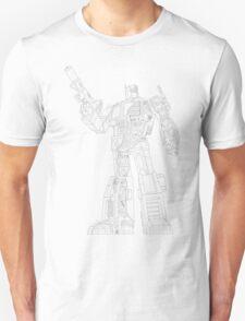 Optimus Prime - Écorché (lineart) T-Shirt