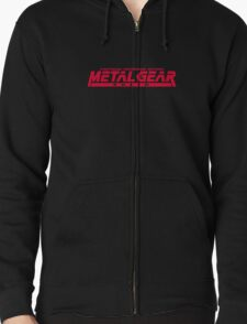 Metal Gear Solid Zipped Hoodie