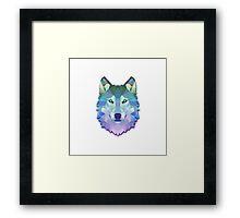 Triangunal Wolf Framed Print