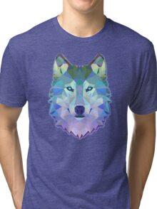 Triangunal Wolf Tri-blend T-Shirt