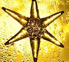Vintage gold star by Penny V-P