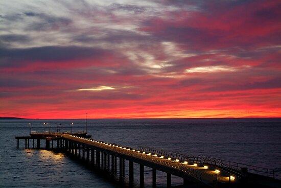 Sunrise Lorne Pier, Great Ocean Rd by Joe Mortelliti
