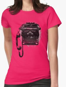 Communication's Typhone Womens Fitted T-Shirt