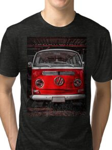 Volkswagen combi Red Tri-blend T-Shirt