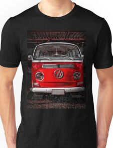 Volkswagen combi Red Unisex T-Shirt