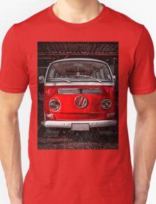 Volkswagen combi Red T-Shirt