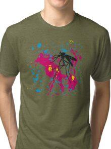 Amber CMYK Tri-blend T-Shirt