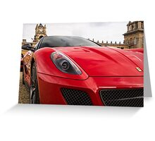 Prancing Horse at Blenheim Palace Greeting Card