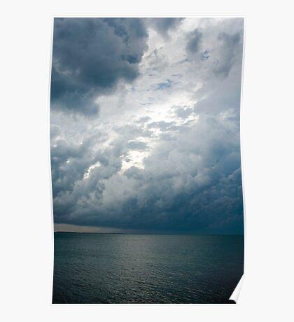 Storm Clouds, Nassau, Bahamas Poster