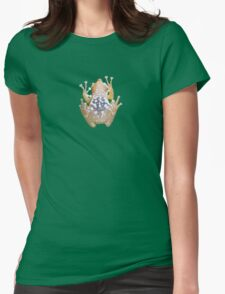 Frog belly Womens Fitted T-Shirt