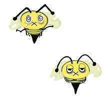 Zombie Bees/Zom-BEES (Pattern) by JillPillDesign