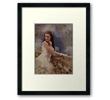 Forever In Her Dreams Framed Print