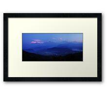 The Himalayas from Sarangkot Framed Print