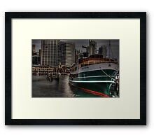 SS South Steyne - Darling Harbour, Sydney Australia - The HDR Experience Framed Print