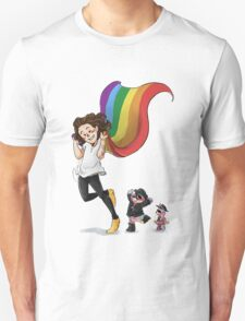 Rainbow Hero Unisex T-Shirt