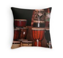 Drum Stack Throw Pillow