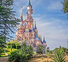 Sleeping Beauty Castle - Fantasyland - Disneyland Paris, France by TonyCrehan