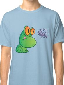 Frog and Dragonfly Classic T-Shirt