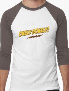 Okley Dokley! Men's Baseball ¾ T-Shirt