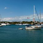 Hope Town Harbour, Abaco, Bahamas by Shane Pinder