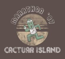 Cactuarathon- Final Fantasy Parody One Piece - Short Sleeve