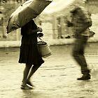 Dancing on the Rain - Jocotenango town by Miguel Avila